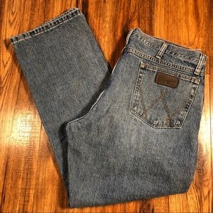 Wrangler PBR Medium wash jeans 38 x 30